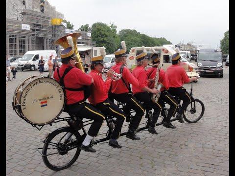2011 Belgique   Bruxelles, Orchestre à Vélo, FietsOrkest nl