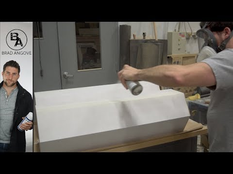 Finishing MDF With Spray Cans