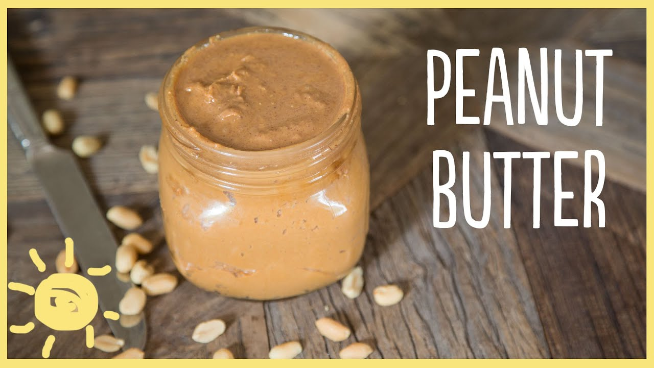 EAT | Homemade Peanut Butter - YouTube