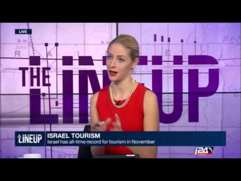 """Whats new in Israel Tourism  - I 24 News """"The Lineup"""""""