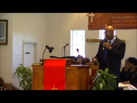 Pastor Aaron Jackson, Change begins with me 021713