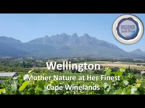 Wellington. Mother Nature at Her Finest. Cape Winelands