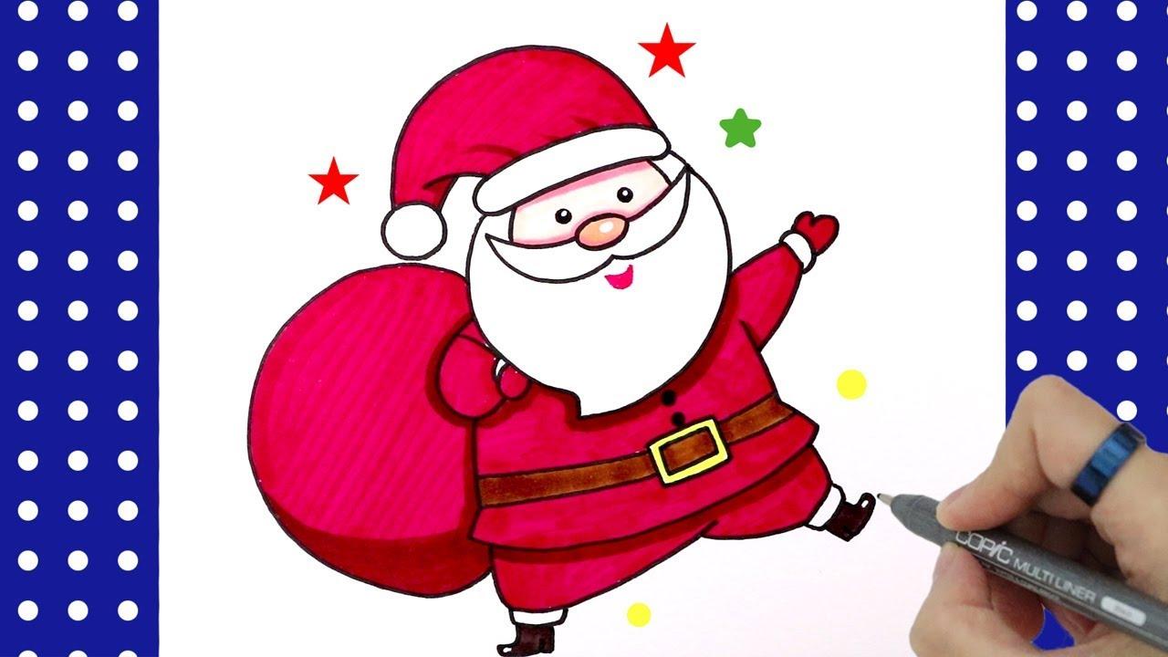 """How To Draw Santa Claus ̂°íƒ€í•ì•""""버지 Ê·¸ë¦¬ê¸° ̆ê·¸ë¦¼ ̘ˆë¿ë""""œë¡œìš° Youtube"""