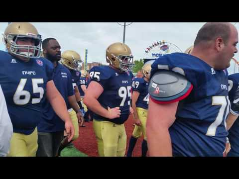NYPD vs. FDNY brawl during football game