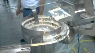 Tekli Küp Şeker Paketleme Makinası (Fotoselli)