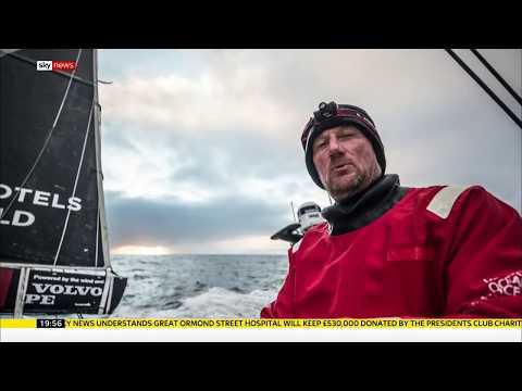 Yachtsman John Fisher 'lost at sea' - Rebecca Williams reports