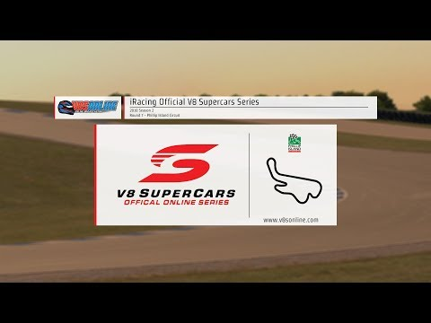 iRacing Official V8 Supercar Series - Round 7, Phillip Island