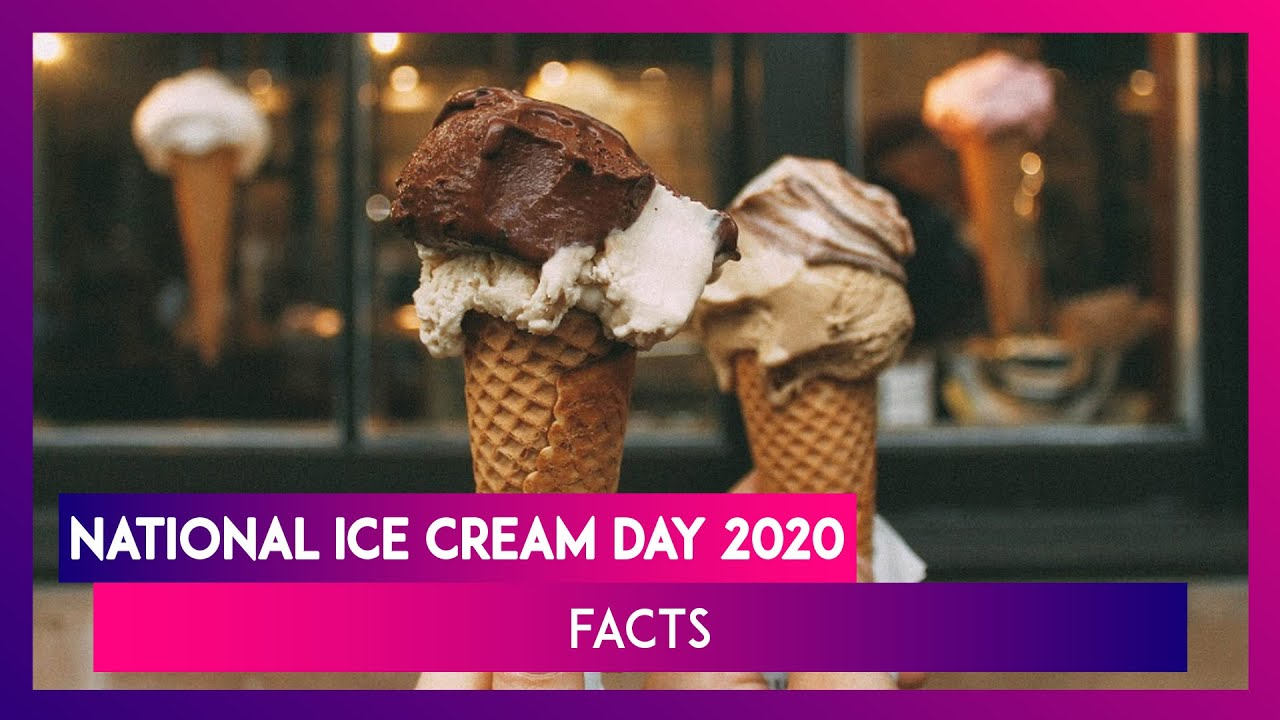 National Ice Cream Day: Fun facts about everyone's favorite frozen ...