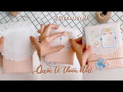 #GiveAway Trang Trí Quà Quốc Tế Thiếu Nhi // Happy Hidari #Shorts