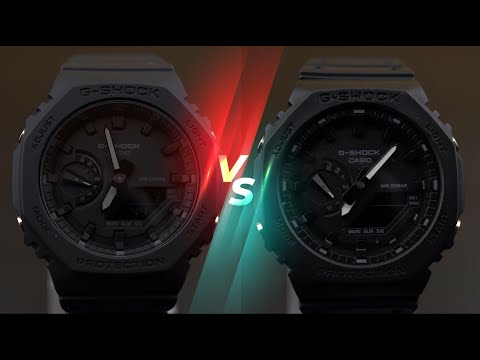 How to identify FAKE CasiOak G-Shock GA-2100-1A1?