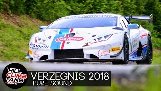 "Hill Climb Verzegnis 2018 - ""Best of"" PURE SOUND!"