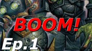 Hearthstone Madness Ep.1 - The Boom Bot War