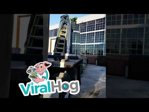 Huge Glass Smash    ViralHog