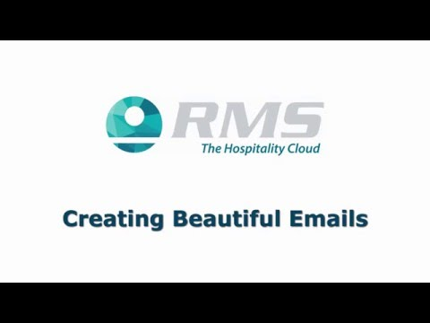 Creating Beautiful Emails in RMS Cloud