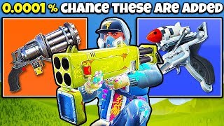 10 Weapons Never Coming to FORTNITE | Chaos