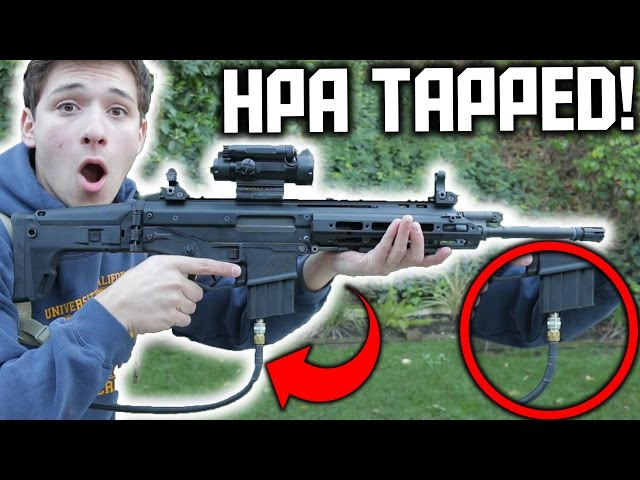 Airsoft GBBR TO HPA!   HPA TAPPED WE MSK!   THE WE MSK SOLUTION IS HERE 😀👌!!!