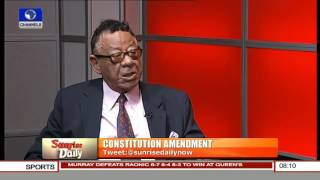 The 1999 Constitution Created More Problems For Nigeria -- Robert Clarke Pt. 1