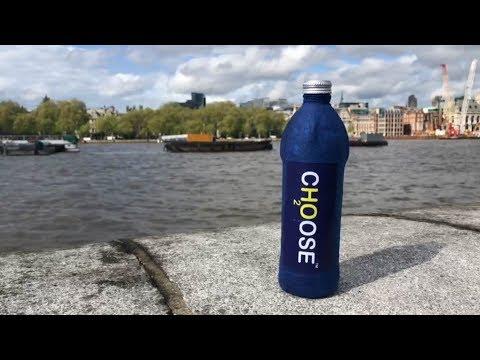 British chemist designs biodegradable water bottle