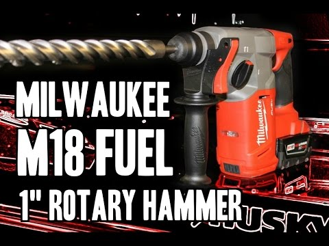 "Milwaukee 2712 M18 FUEL 1"" SDS-Plus Rotary Hammer"