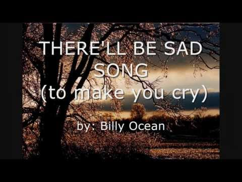 There'll be sad   Billy Ocean