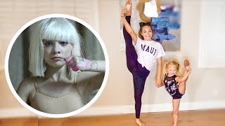MADDIE ZIEGLER TEACHES EVERLEIGH HER OLD DANCE SOLO!!!