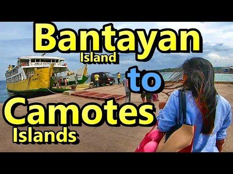 Bantayan to Camotes Islands Cebu Philippines