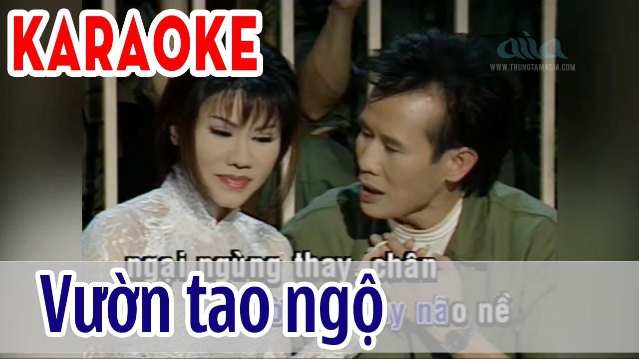 Vườn Tao Ngộ – Karaoke Song Ca | Tuấn Vũ & Sơn Tuyền | Asia Karaoke Beat Chuẩn
