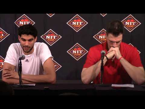 MBB: David Padgett & Anas Mahmoud Mississippi State Postgame Press Conference