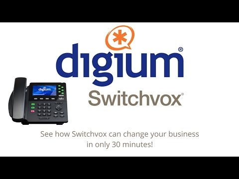 Digium Switchvox Webinar