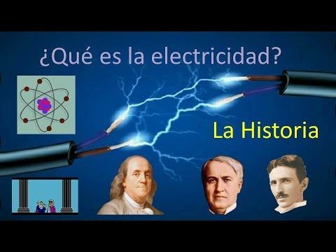 Que es la electricidad y su historia youtube for Electricidad