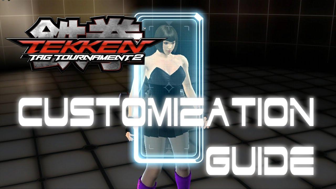 Tekken Tag Tournament 2 Customization Guide Youtube