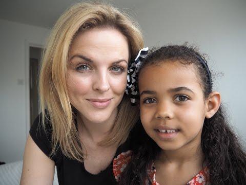 My 5 year old does my makeup | mum and daughter makeup fun
