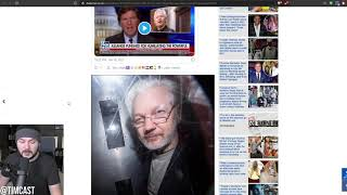 Trump To Pardon 100 People But NOT Assange, Tucker Intervenes And Says Trump MUST Pardon Assange NOW