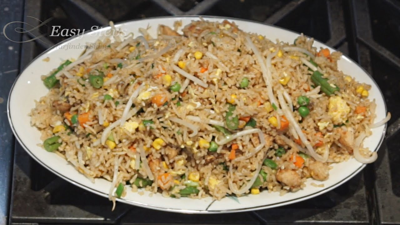 to make Chicken Fried Rice | Quick Easy & Delicious Authentic Chinese ...