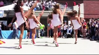 "USC Song Girls & Trojan Marching Band ""Dance to the Music"" at 35th Annual SWIM WITH MIKE"