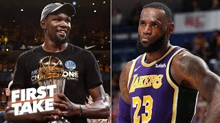 LeBron should stop Kevin Durant from joining the Clippers - Stephen A. | First Take