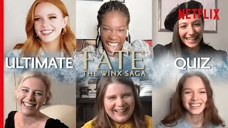 The Cast of Fate: The Winx Saga Take The Ultimate Quiz on the Show