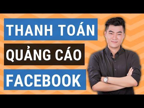 Thanh toán quảng cáo Facebook dễ dàng (Cập nhật 2020)
