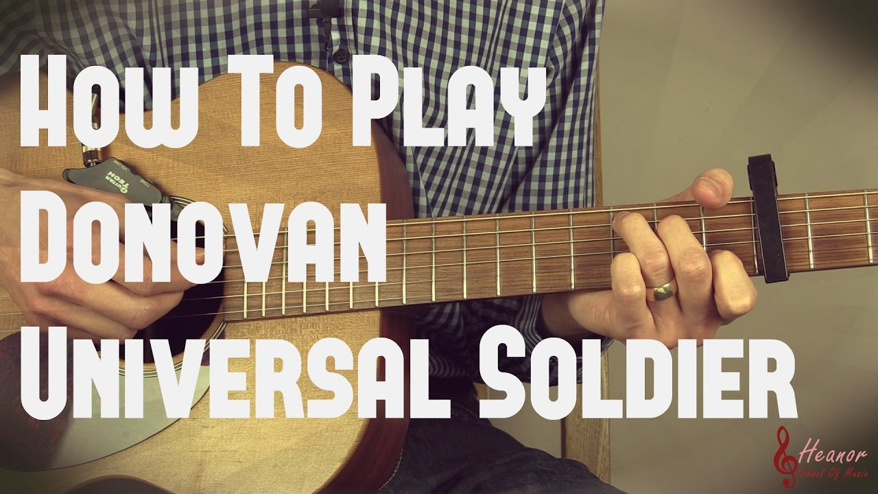 how to play soldier side on guitar