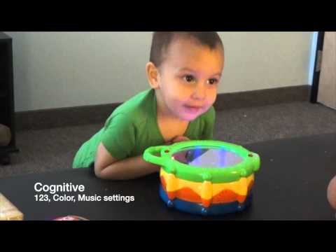 Toy Review - Bright Starts Lights, Lights Baby Light and Giggle Drum