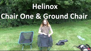 Helinox Chair One & Ground Chair Review