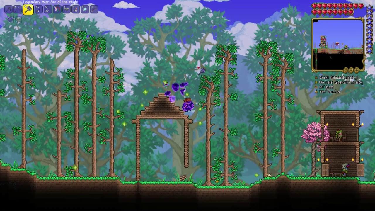 The Start Of The Teleporter Room Terraria 1 4 Youtube As of 1.2.3 patch, wires have unlimited worldwide access, so there is no distance limit. youtube