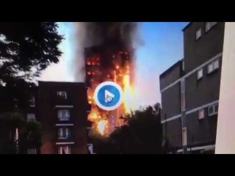 Grenfell Tower Fire London Broke Out Middle Of Night