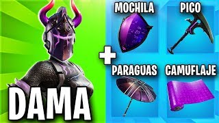 THE BEST SKIN COMBINATIONS WITH THE NEW PACK DARK LAWS ⚡ FORTNITE SKIN ComboS