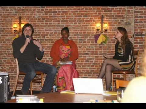 Haby Ba, Grégoire Théry et Anne Sophie Fayt dans Face à l'info - 08/03/2012