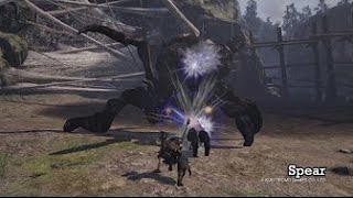 Toukiden 2 Spear Gameplay Trailer