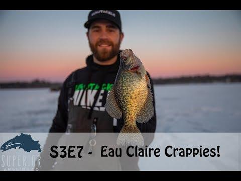 S3E7 - Eau Claire Crappies By The Dozen!