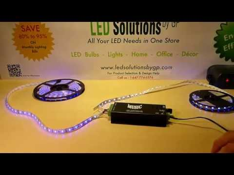 LED Music/Sound Activated Controller