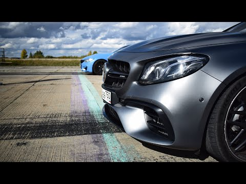 Волк E63s Mercedes-Benz Vs BMW M4 Vs AMG CLS 63s + GLE 63 Vs X6M