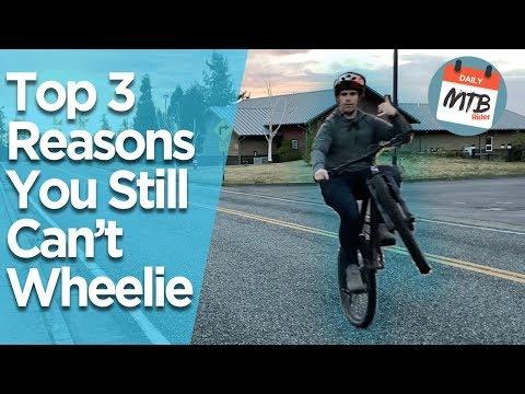 Top 3 Reasons People Can't Wheelie A Bike // How to Wheelie a Bike